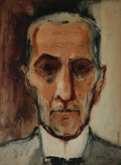 Бубнова В. Д. Мужской портрет