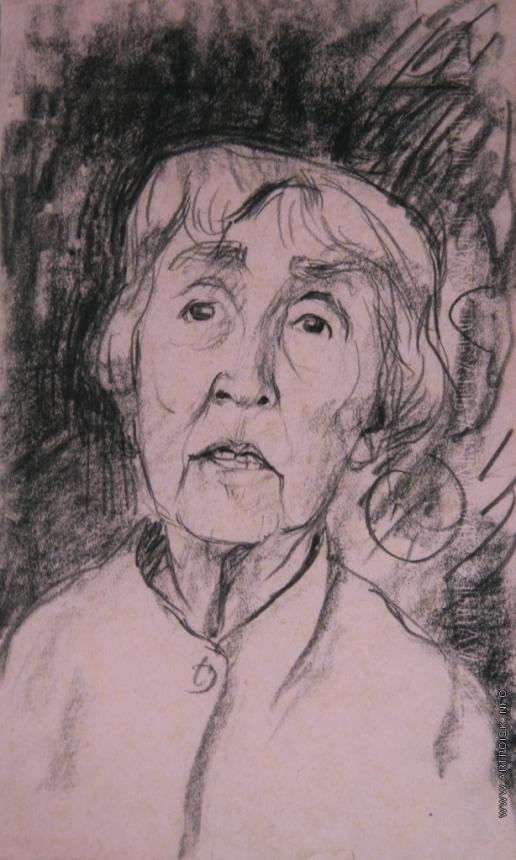 Бубнова В. Д. Мария Дмитриевна Бубнова (сестра художницы)