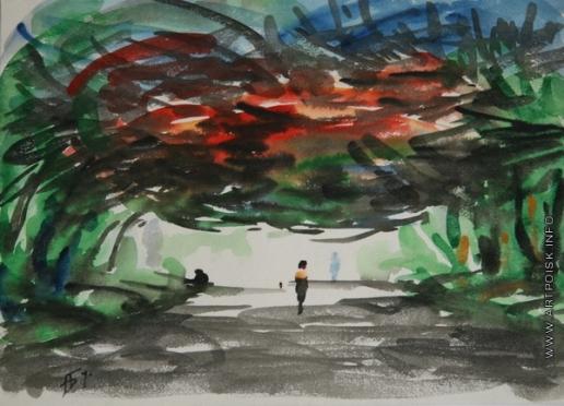 Бубнова В. Д. Красные листья