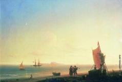 Айвазовский И. К. Вид на острове Капри