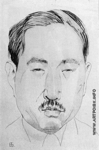 Бубнова В. Д. Портрет мужчины
