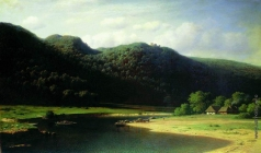 Клодт М. К. Долина реки Аа в Лифляндии