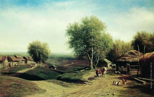 Клодт М. К. Возвращение стада в деревню