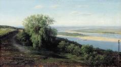 Клодт М. К. Волга под Симбирском