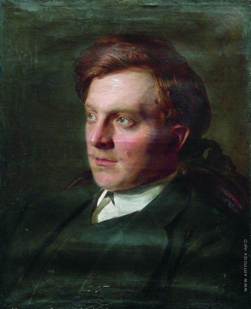 Репин И. Е. Портрет студента И.Т.Савенкова