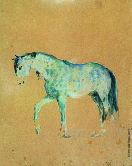 Репин И. Е. Лошадь
