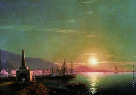 Айвазовский И. К. Восход солнца в Феодосии