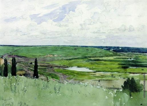 Репин И. Е. Пейзаж под Чугуевом