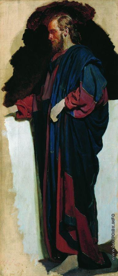 Репин И. Е. Христос