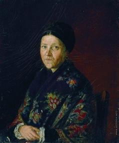 Репин И. Е. Портрет А.С.Бочаровой, тетки художника