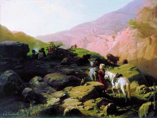 Ковалевский П. О. Кавказ