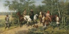 Ковалевский П. О. Перед грозой