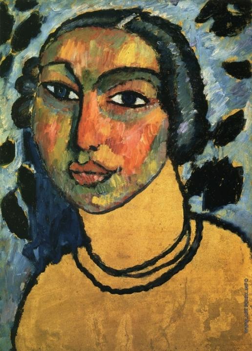 Явленский А. Г. Еврейская девушка