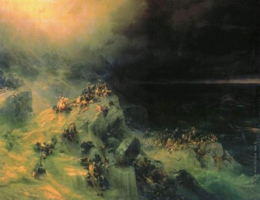 Айвазовский И. К. Всемирный потоп