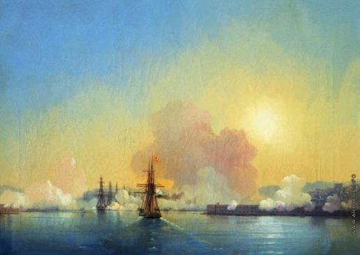 Айвазовский И. К. Вход в Севастопольскую бухту