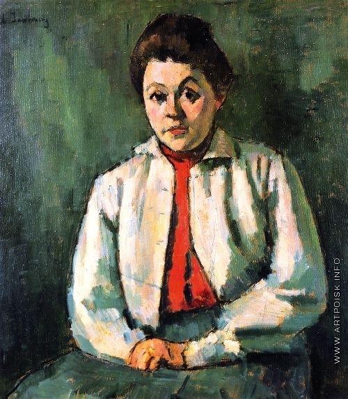 Явленский А. Г. Елена в красном свитере