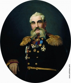 Репин И. Е. Портрет военного