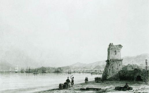 Айвазовский И. К. Генуэзская башня