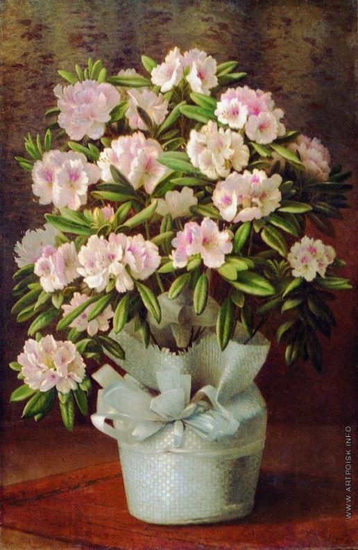 Кондратенко Г. П. Цветы в корзине
