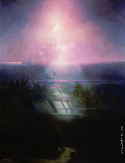 Айвазовский И. К. Гибель корабля «Лефорт». Аллегорическое изображение