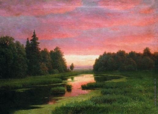 Кондратенко Г. П. Закат над рекой