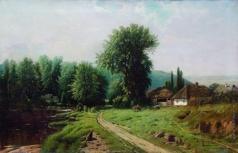 Кондратенко Г. П. Сельский пейзаж