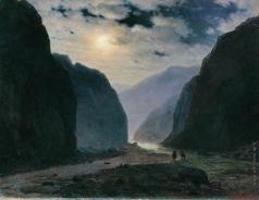 Кондратенко Г. П. Лунная ночь в горах