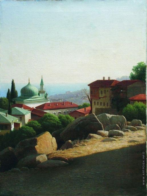 Кондратенко Г. П. Крымский пейзаж