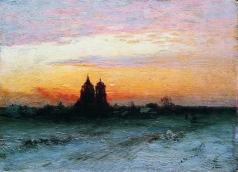 Кондратенко Г. П. Зимний пейзаж
