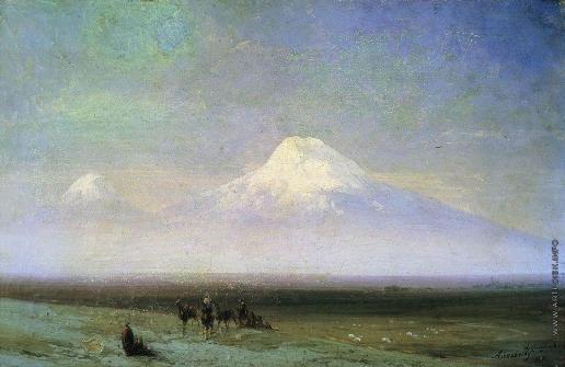 Айвазовский И. К. Гора Арарат