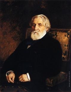 Репин И. Е. Портрет писателя И.С.Тургенева