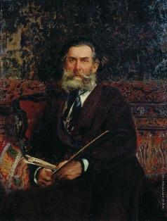 Репин И. Е. Портрет А.П.Боголюбова