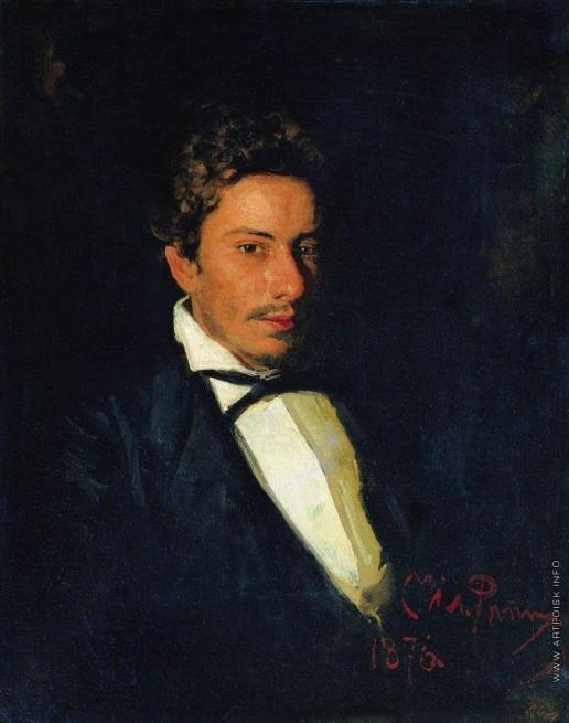 Репин И. Е. Портрет В.Е.Репина, брата художника