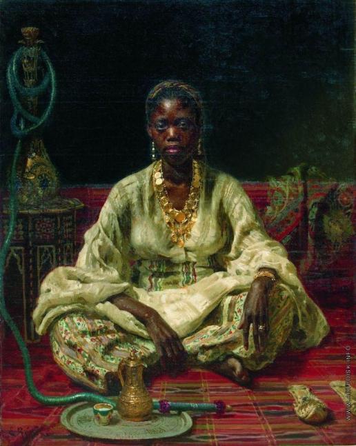 Репин И. Е. Негритянка