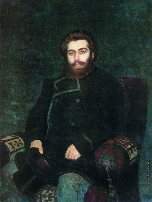 Репин И. Е. Портрет художника А.Куинджи