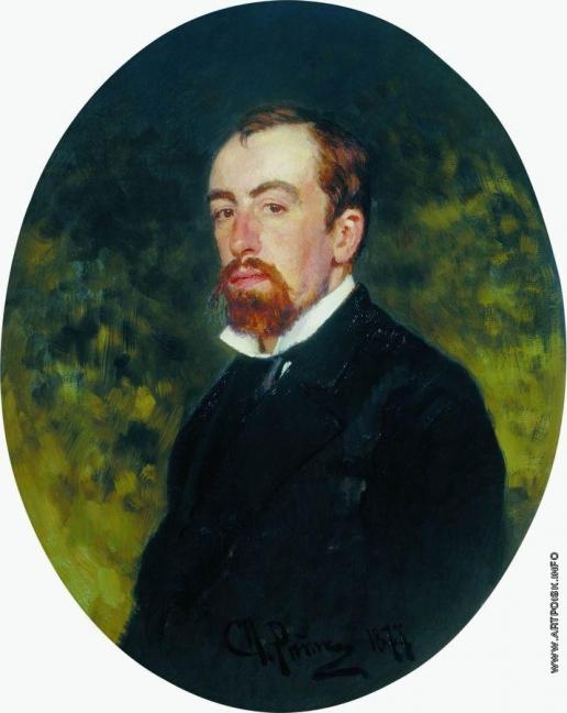 Репин И. Е. Портрет художника В.Д.Поленова