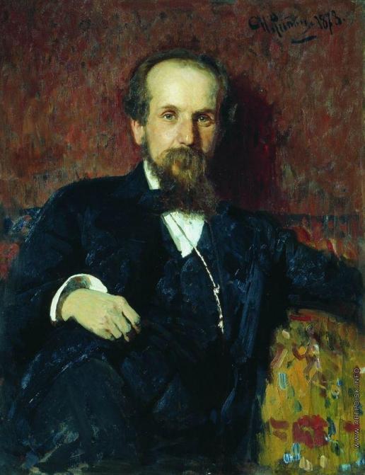 Репин И. Е. Портрет художника П.П.Чистякова