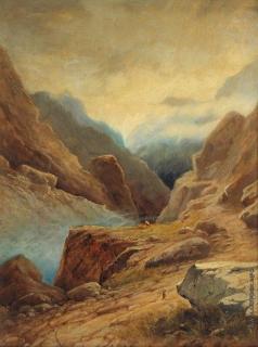 Айвазовский И. К. Дарьяльское ущелье