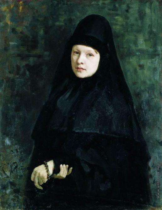 Репин И. Е. Монахиня
