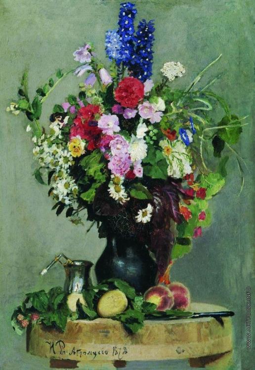 Репин И. Е. Букет цветов