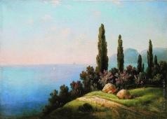 Кондратенко Г. П. Крым. Вид на море