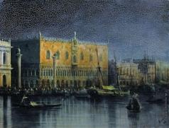 Айвазовский И. К. Дворец дожей в Венеции при луне