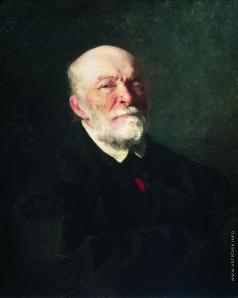 Репин И. Е. Портрет хирурга Н.И.Пирогова