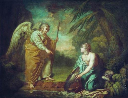 Лосенко А. П. Товий с ангелом