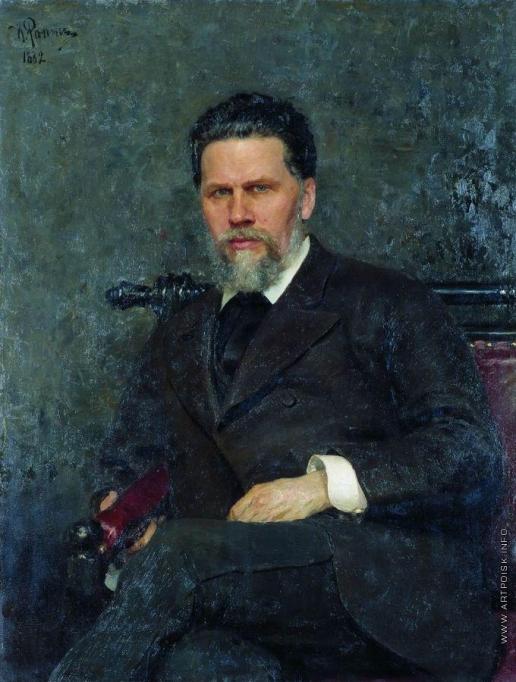 Репин И. Е. Портрет художника И.Н.Крамского
