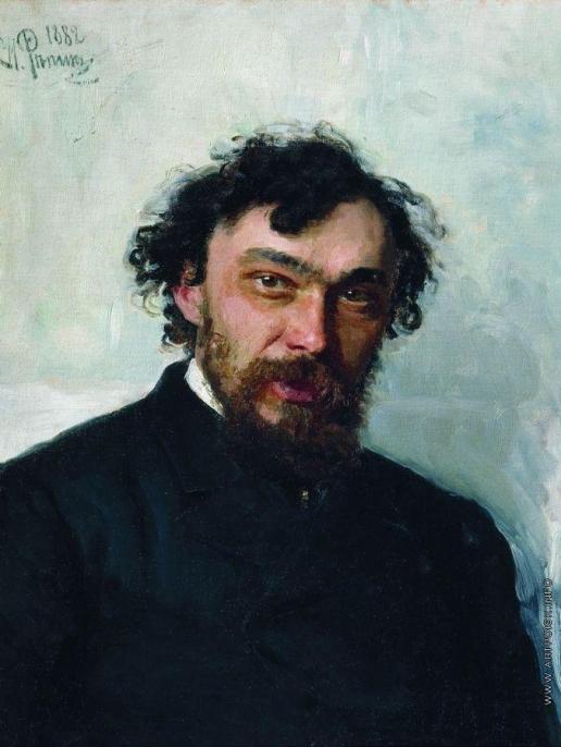Репин И. Е. Портрет художника И.П.Похитонова