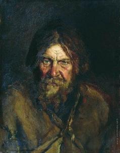 Максимов В. М. Голова крестьянина (этюд)