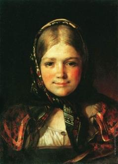 Максимов В. М. Крестьянская девочка