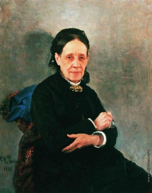 Репин И. Е. Портрет общественной деятельницы Н.В.Стасовой