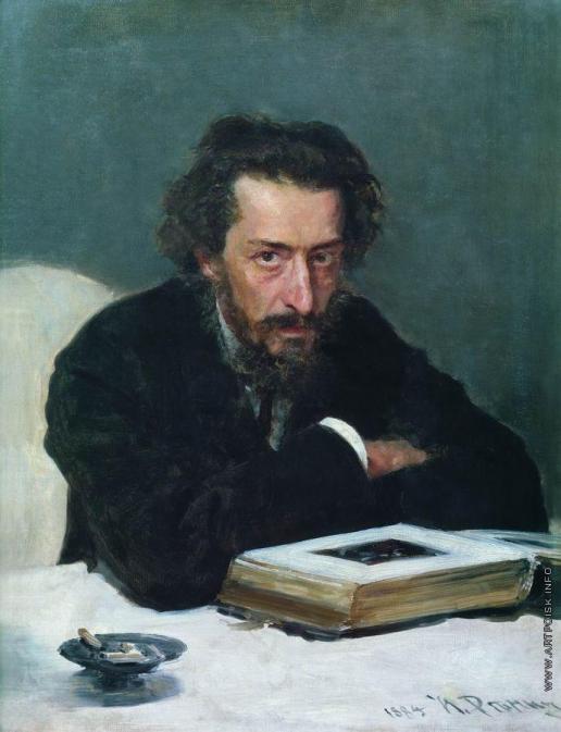 Репин И. Е. Портрет композитора П.И.Бларамберга